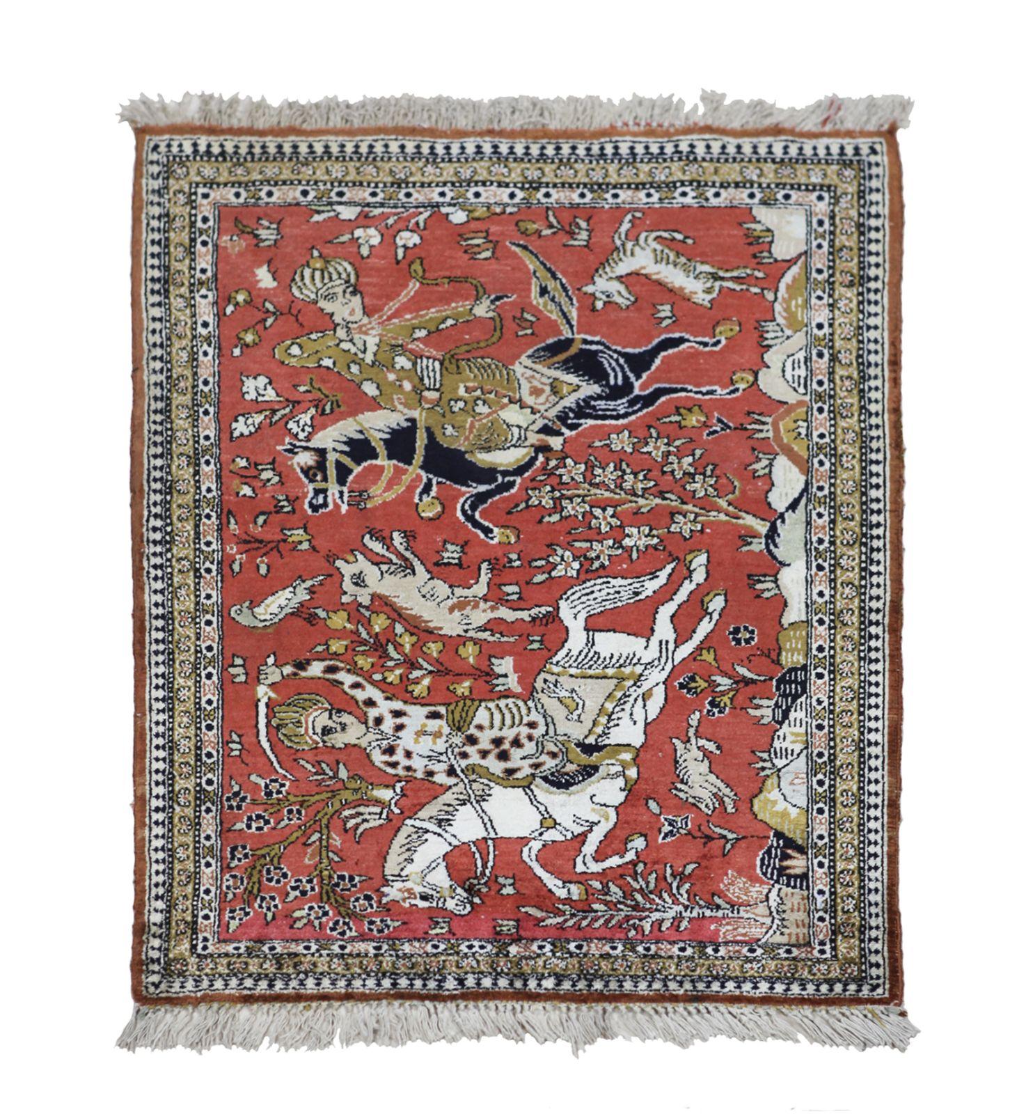 #89 Rider carpet | Reiter-Teppich Image