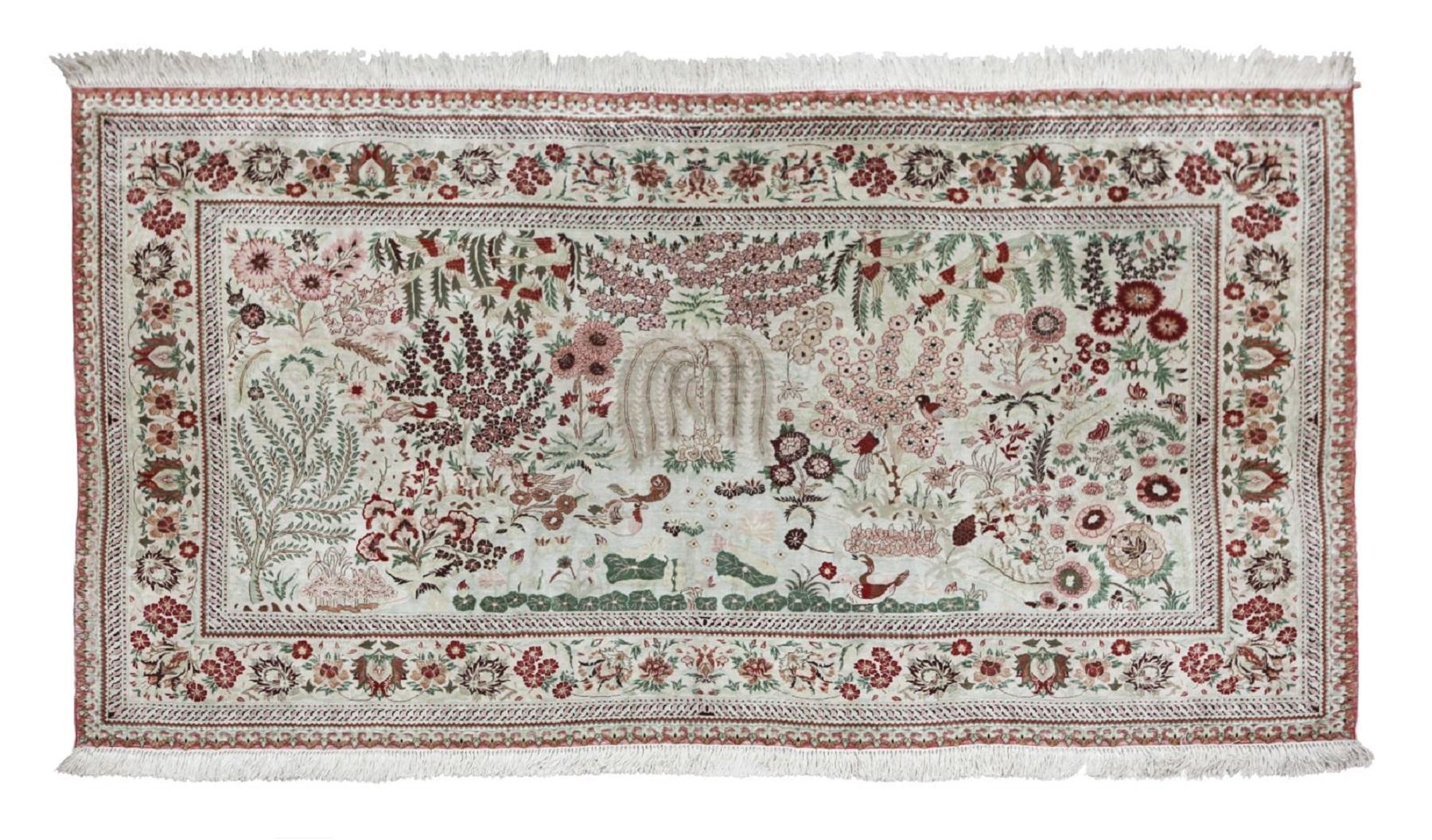 #91 Chinese carpet   Chinesischer Teppich Image
