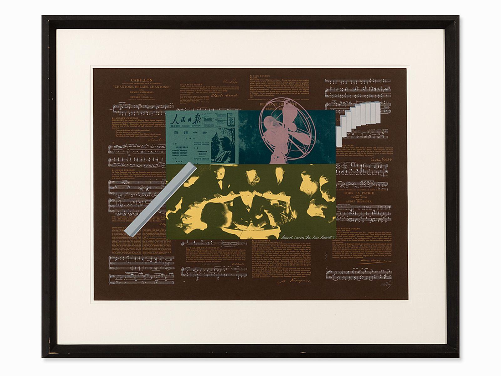 #11 R.B. Kitaj, Heart, Serigraph in Colors, 1966 | R.B. Kitaj (1887-1948), Heart, Farbserigrafie, 1966 Image