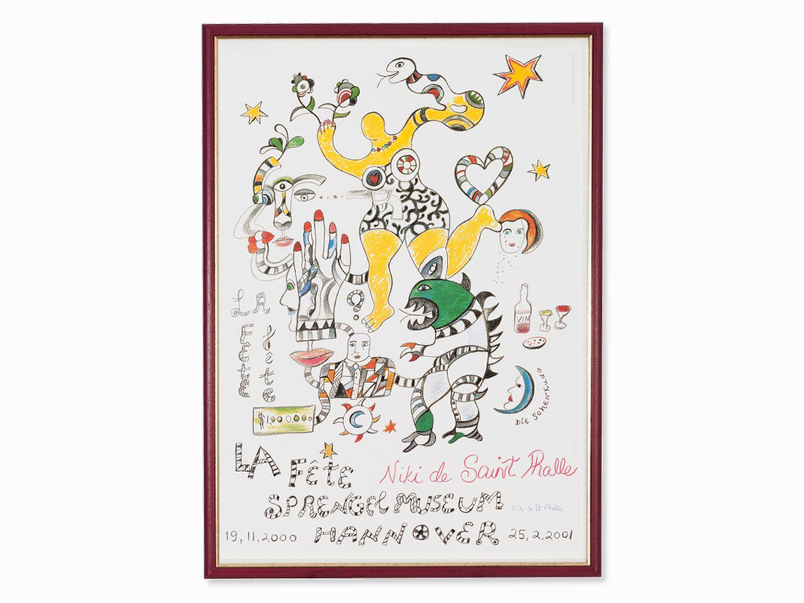 #64 Niki de Saint Phalle, poster Image