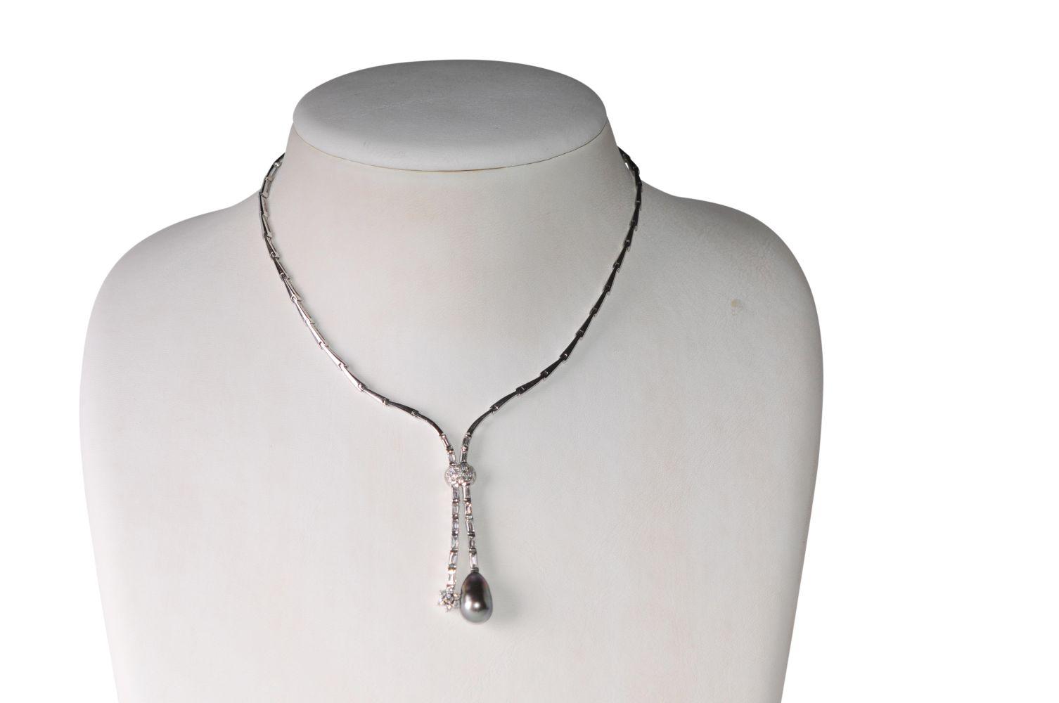 #112 Diamond necklace   Diamant-Collier Image