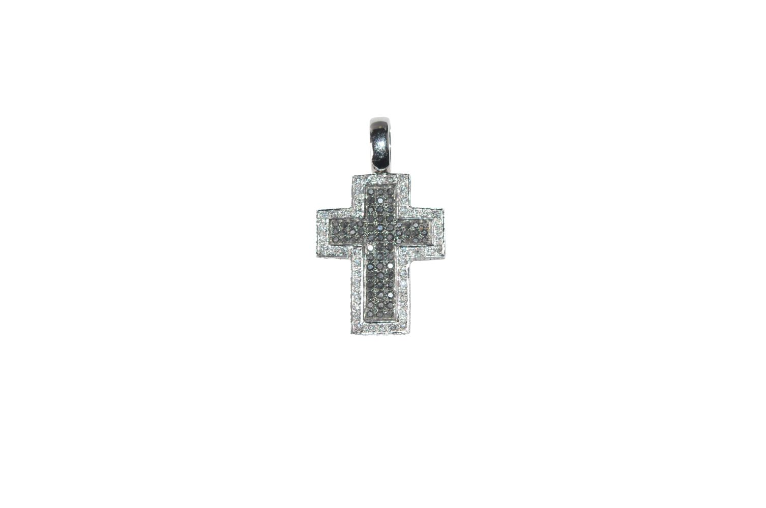 #114 Brilliant cross pendant | Brillant-Kreuz-Anhänger Image