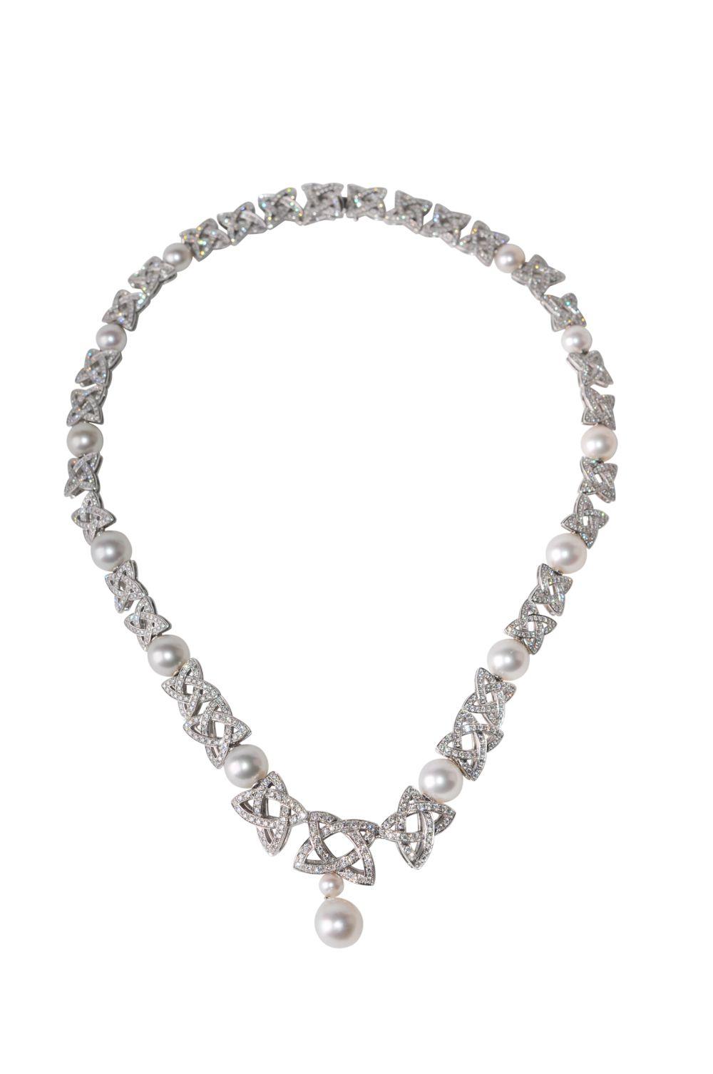 #120 Brillant-Pearl-Necklace | Brillant-Perl-Collier Image