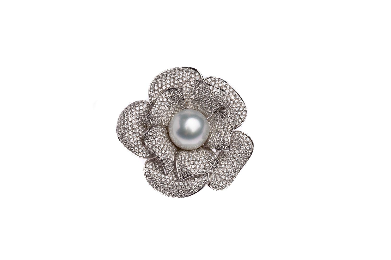 #125 Flowers brooch | Blüten- Brosche Image