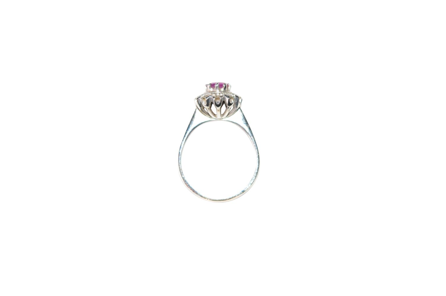 #138 Brilliant ring with ruby | Brillantring mit Rubin Image