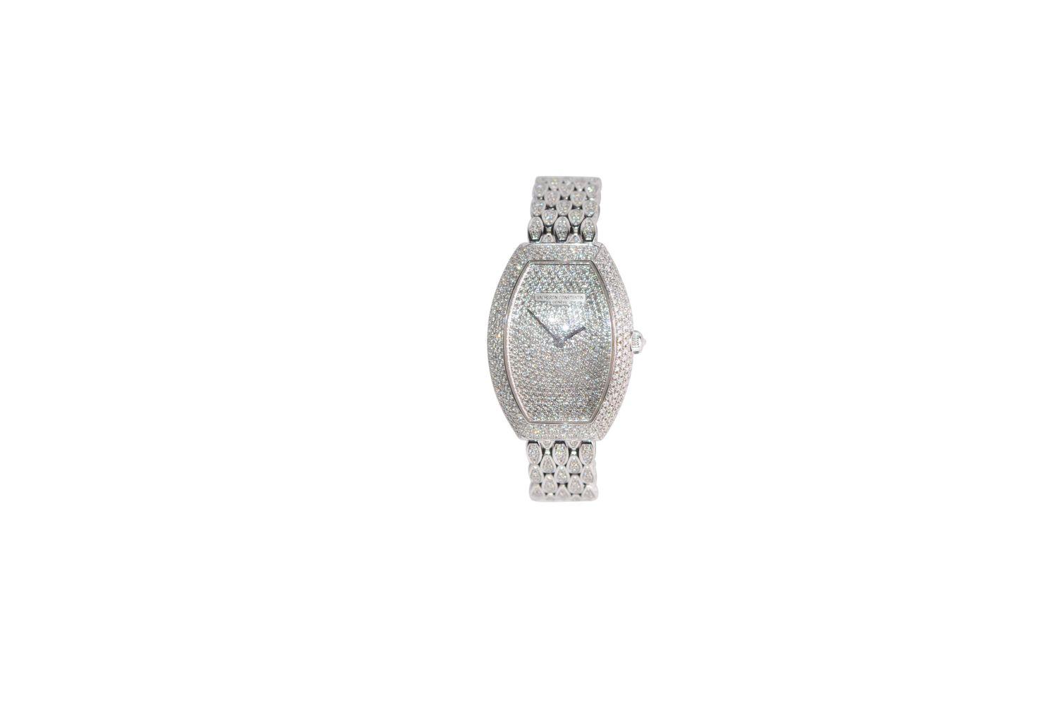 #30 Vacheron Constantin Ladies Timepieces - Egérie full Daimond Image