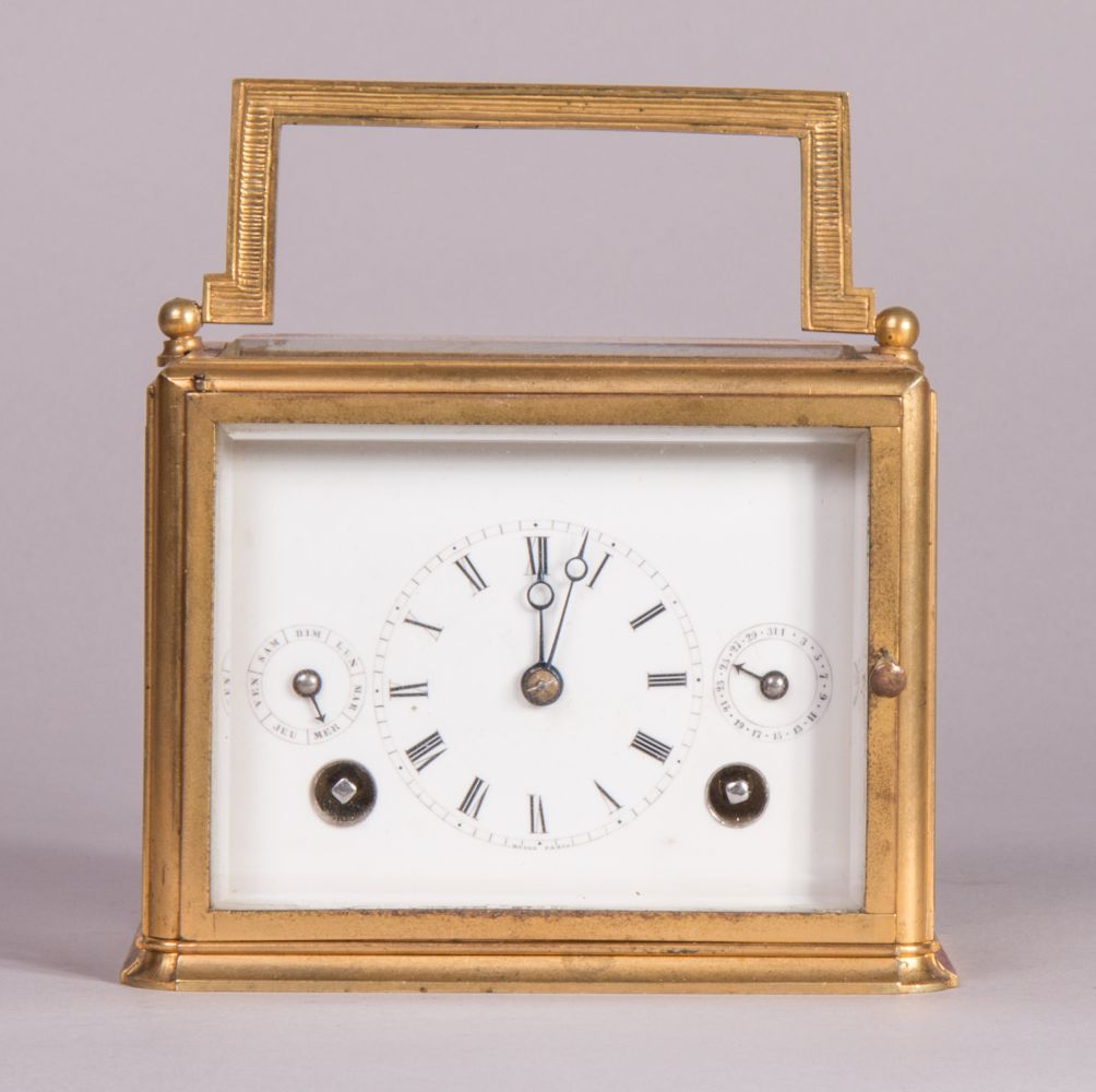 #61 extremely rare travel clock 1805 Schaffhausen by Heinrich Moser | Reiseuhr 1805  Schaffhausen von Heinrich Moser Image
