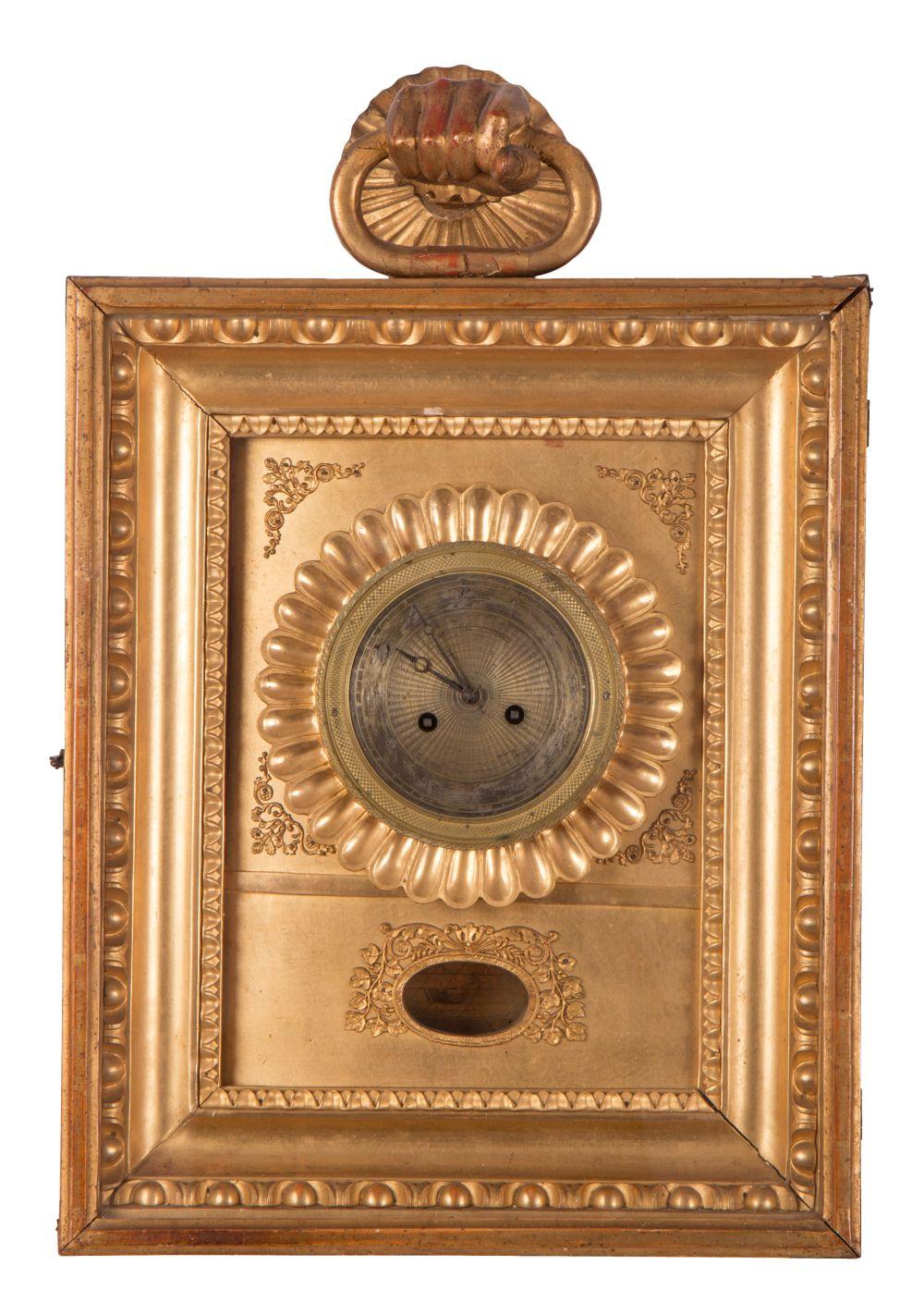 #74 Frame clock | Rahmenuhr Image