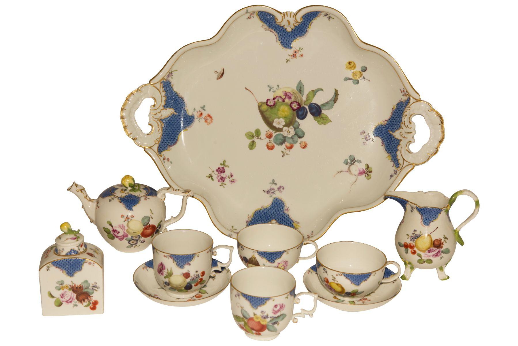 #103 Tête á Tête, Meissen 1750  Image