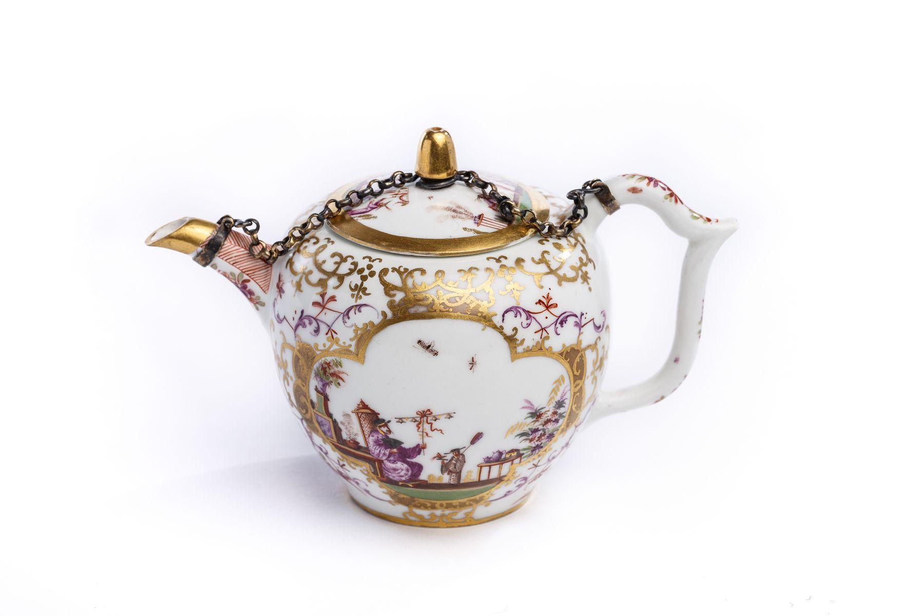 #11 Teapot, Meissen 1720/25   Teekanne, Meissen 1720/25 Image