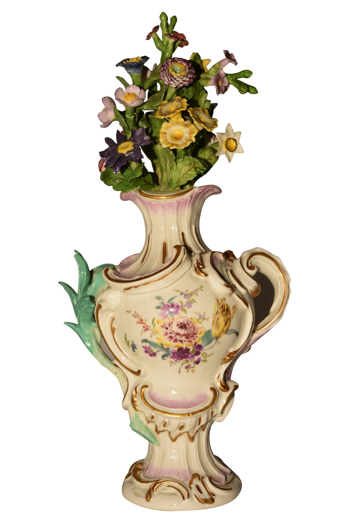 #114 Potpourri vase Meissen around 1750 | Pot Pouri Vase Meissen um 1750 Image