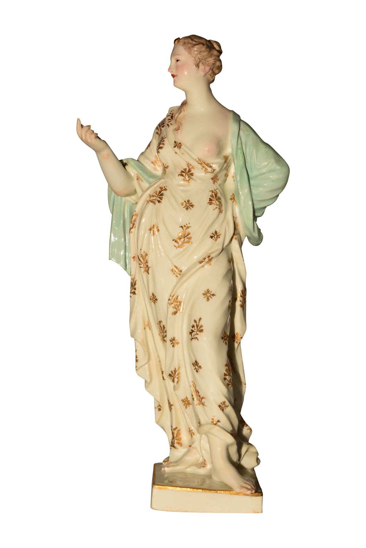 #117 Greek goddess Meissen 1760 | Image