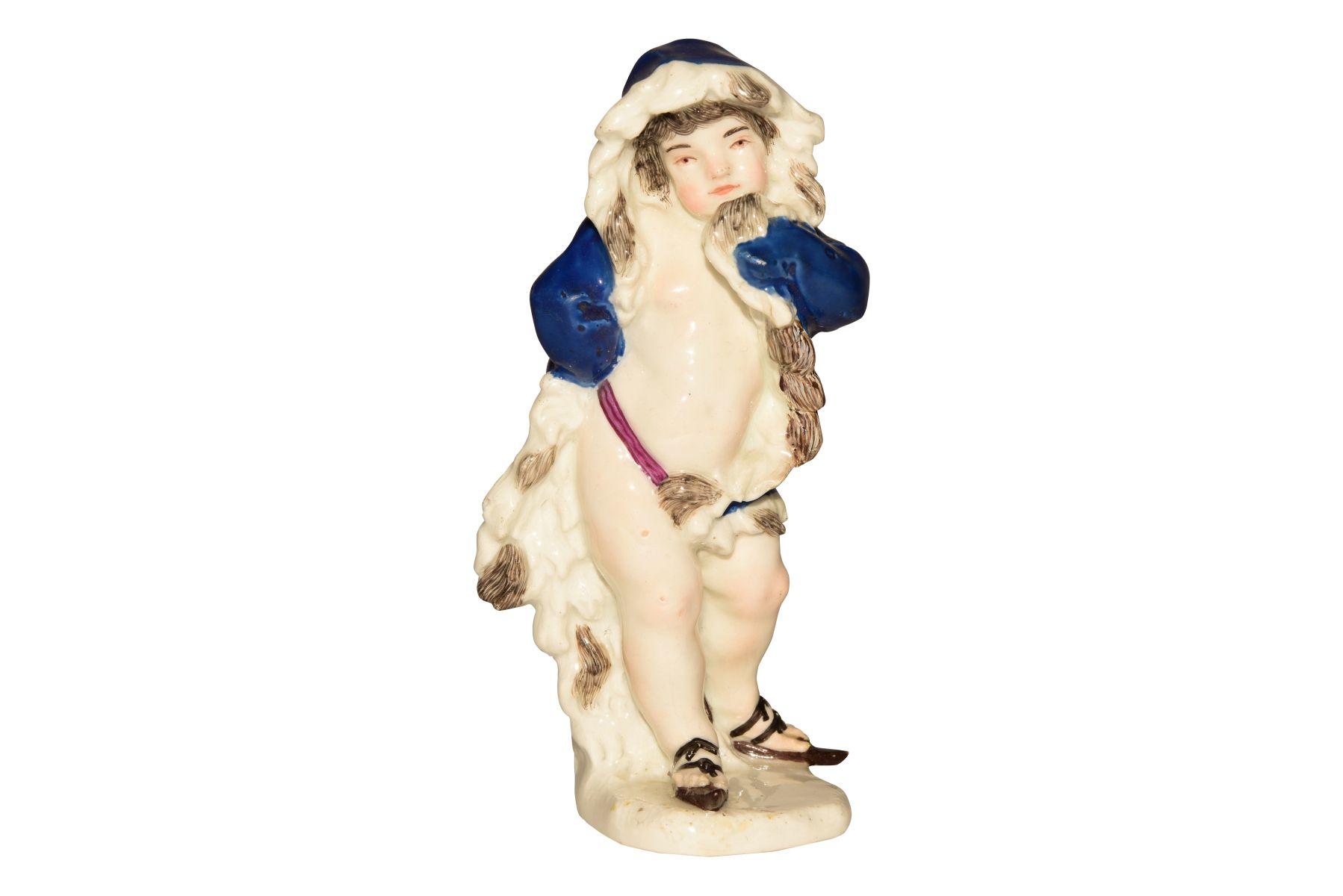 "#127 Figure ""Winter"" Meissen 1750 | Figur ""Winter"" Meissen 1750 Image"