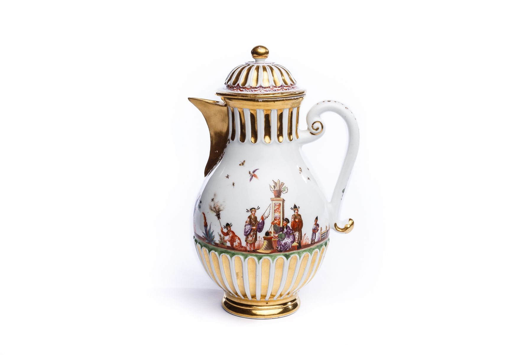 #192 Coffee pot Meissen around 1730 | Kaffeekanne Meissen um 1730 Image