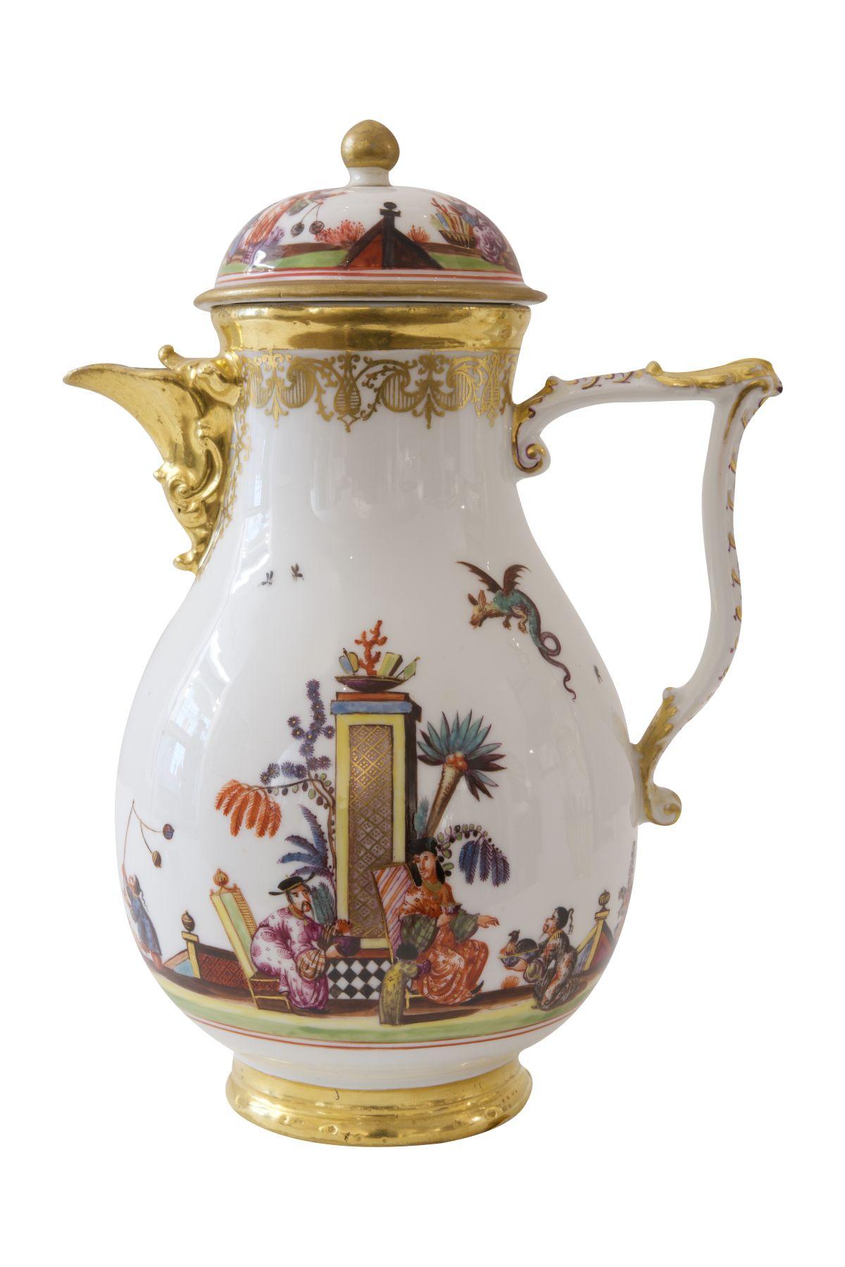 #193 Coffee pot Meissen around 1735/40 | Kaffeekanne Meissen um 1735/40 Image