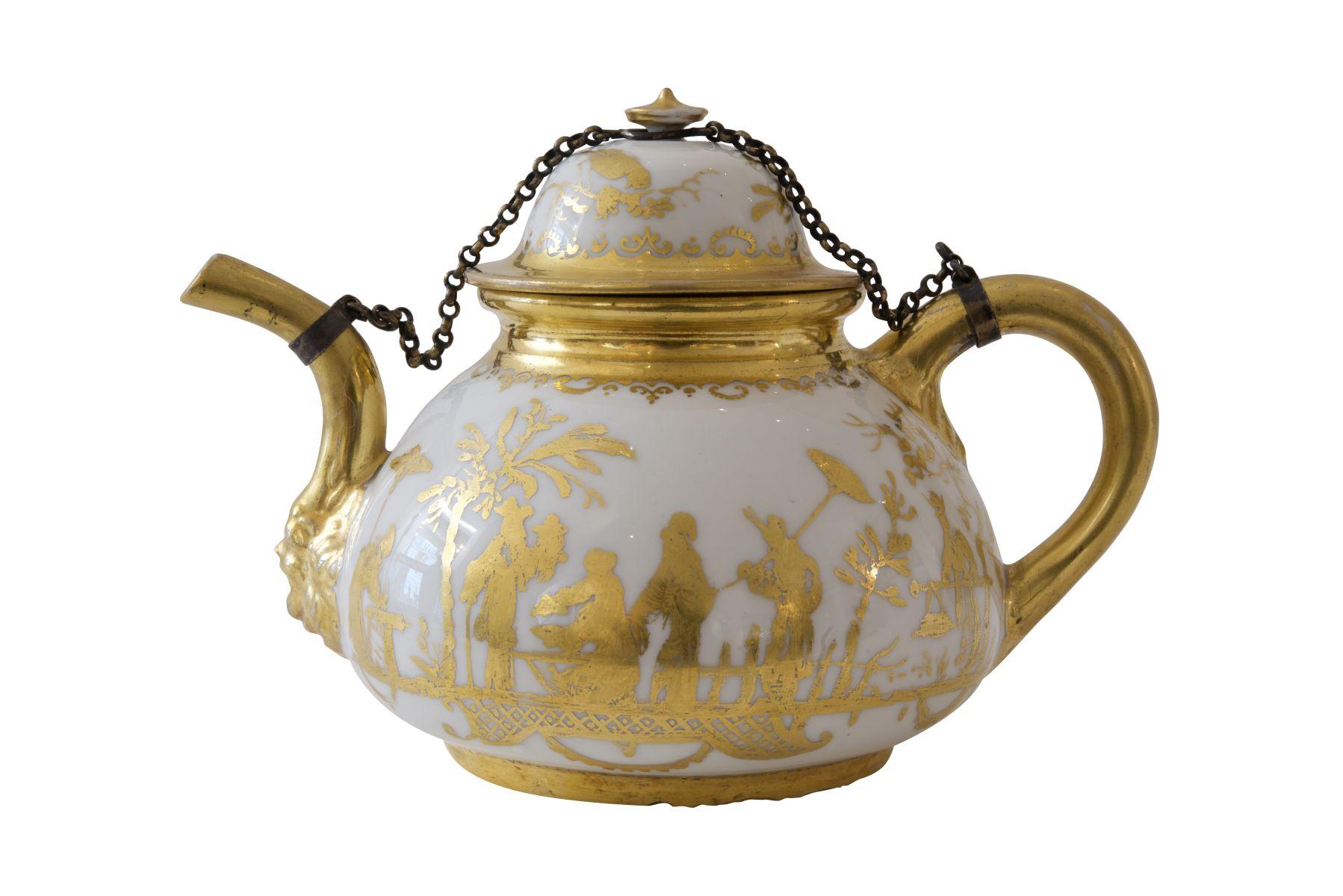 #197 Meissen teapot | Teekanne Meissen Image