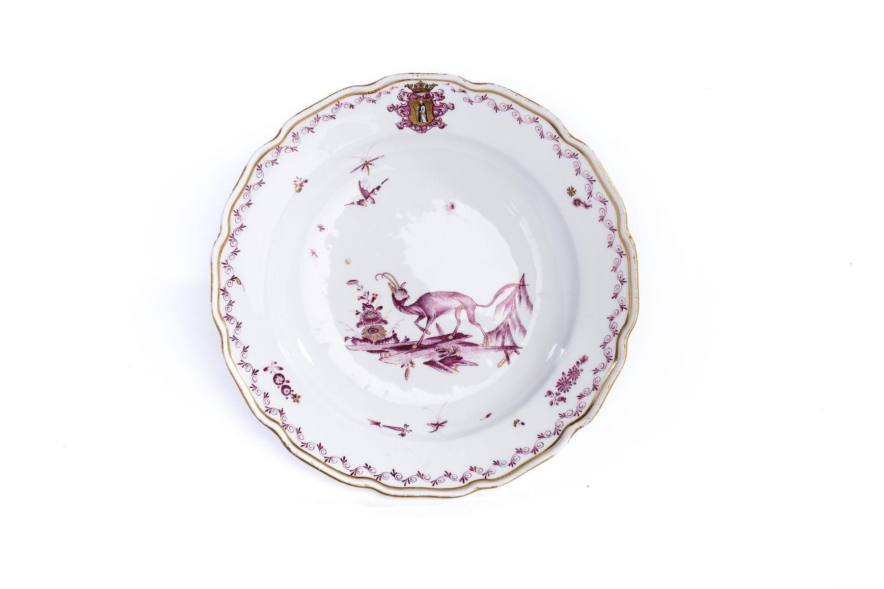 #5 Small Plate, Meissen 1745 | Kleiner Teller, Adam Friedrich Löwenfinck, Meissen 1745 Image
