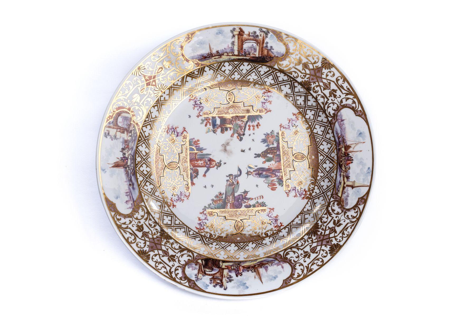 #54 Splendor plate, Meissen 1730/35 | Prunkplatte, Meissen 1730/35 Image