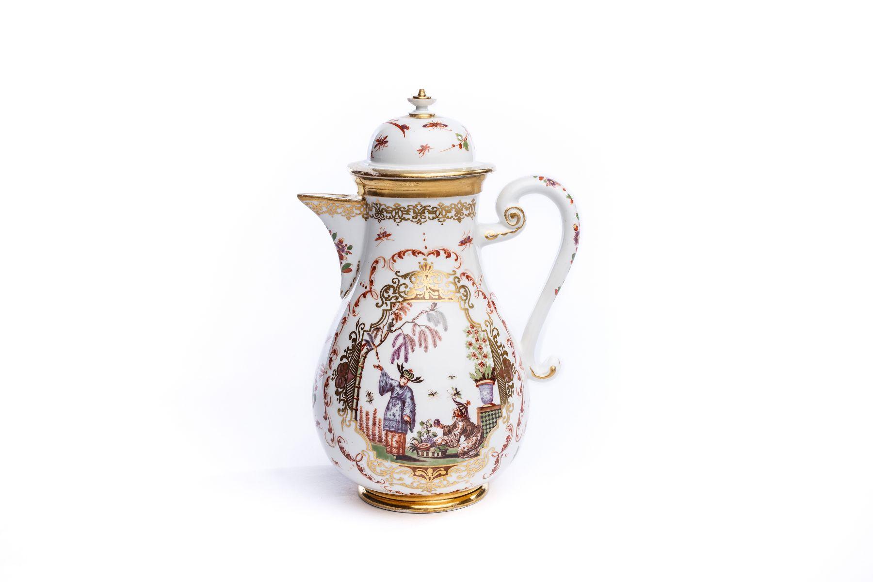 #55 Coffee pot, Meissen 1725 | Kaffeekanne, Meissen 1725 Image