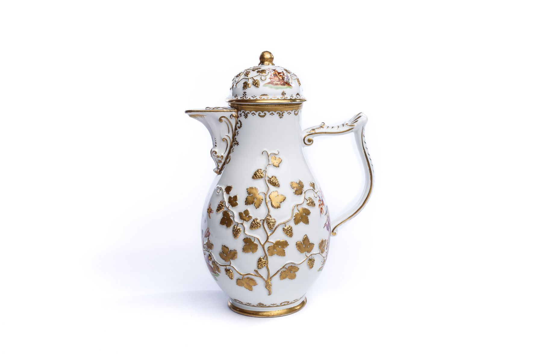 #59 Coffee pot, Meissen mid-18th century | Kaffeekanne, Meissen Mitte 18. Jhdt Image