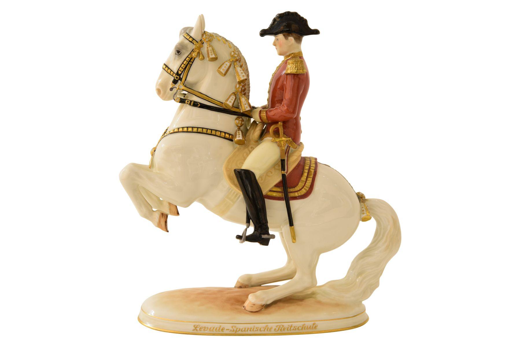#93 Horse with rider Augarten | Pferd mit Reiter Augarten Image