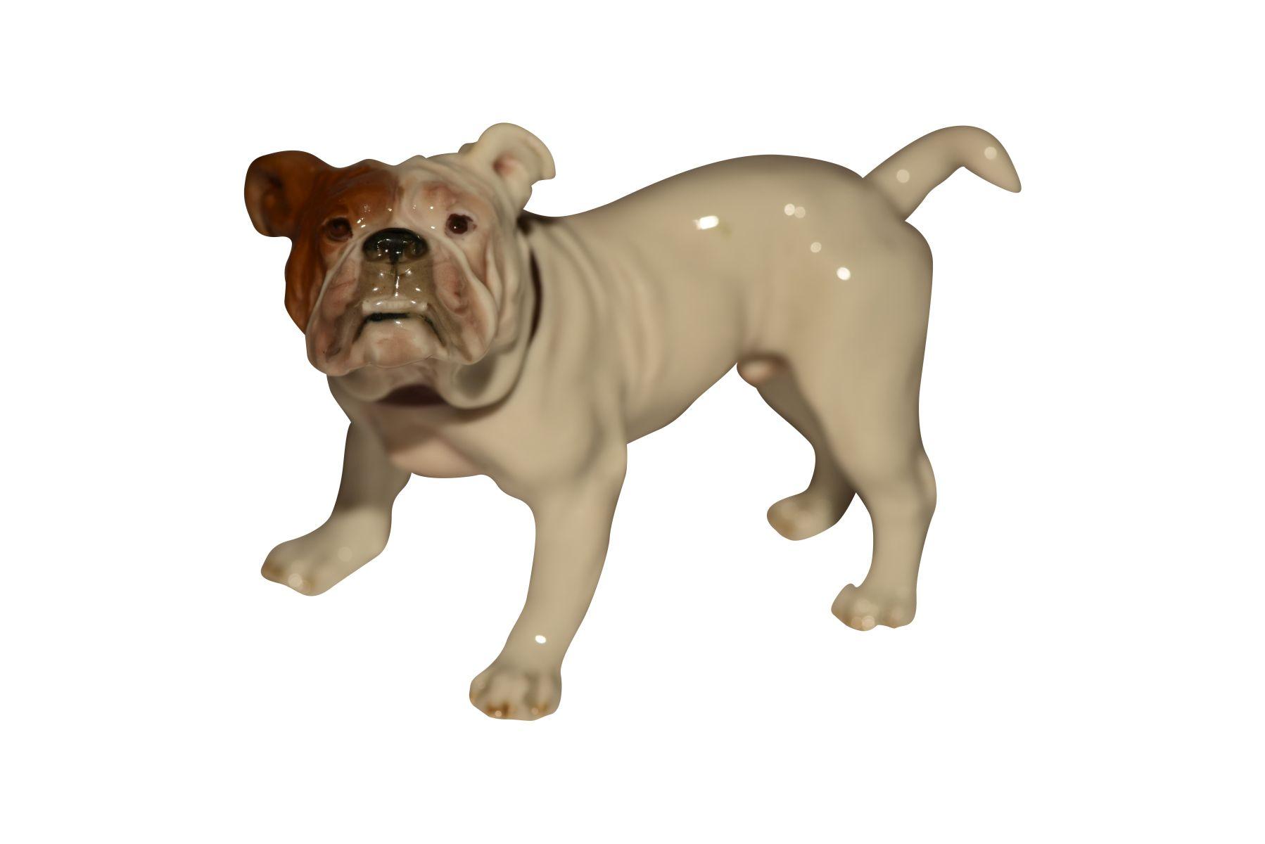 #99 French Bulldog Meissen | Image