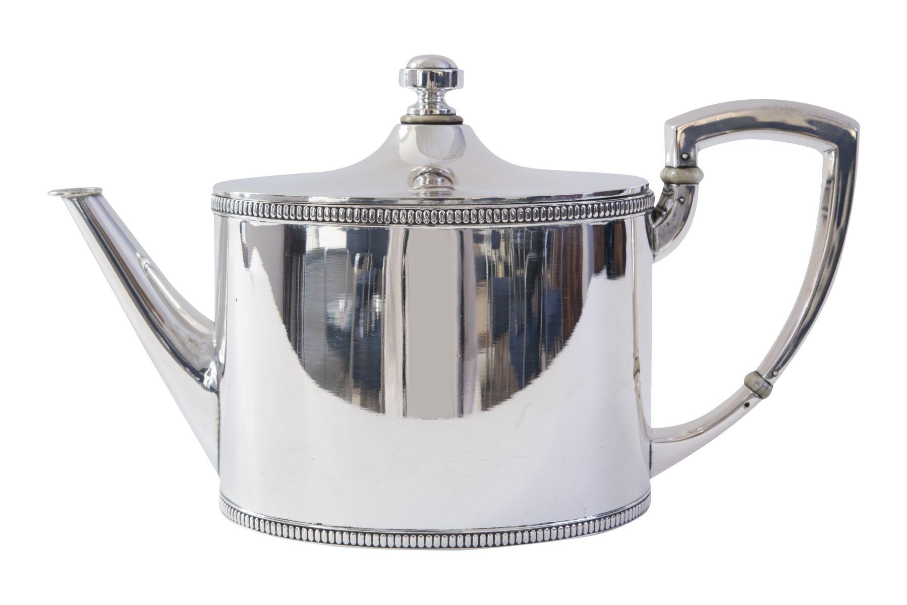 #105 Silver Teapot | Teekanne Silber Image