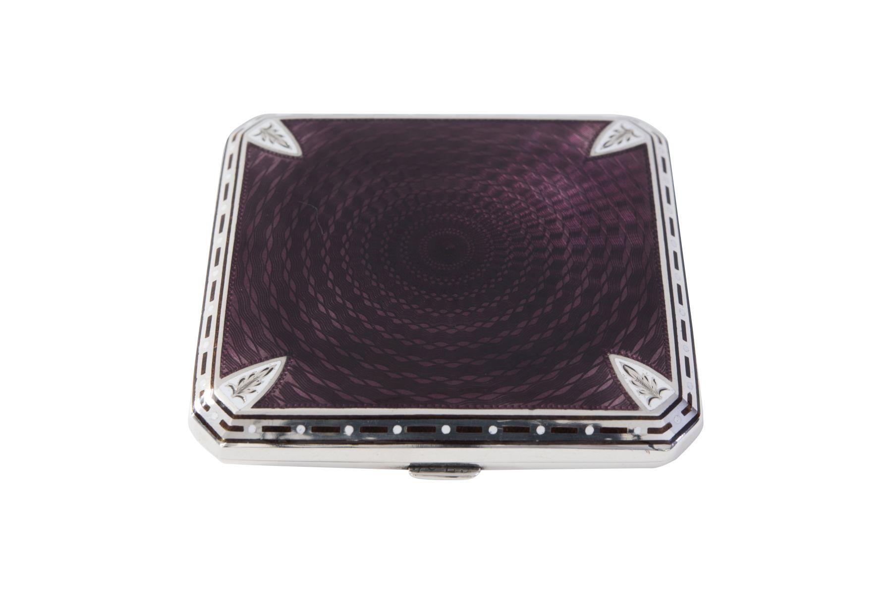 #107 Spring lid silver box | Sprungdeckel Silberdose Image