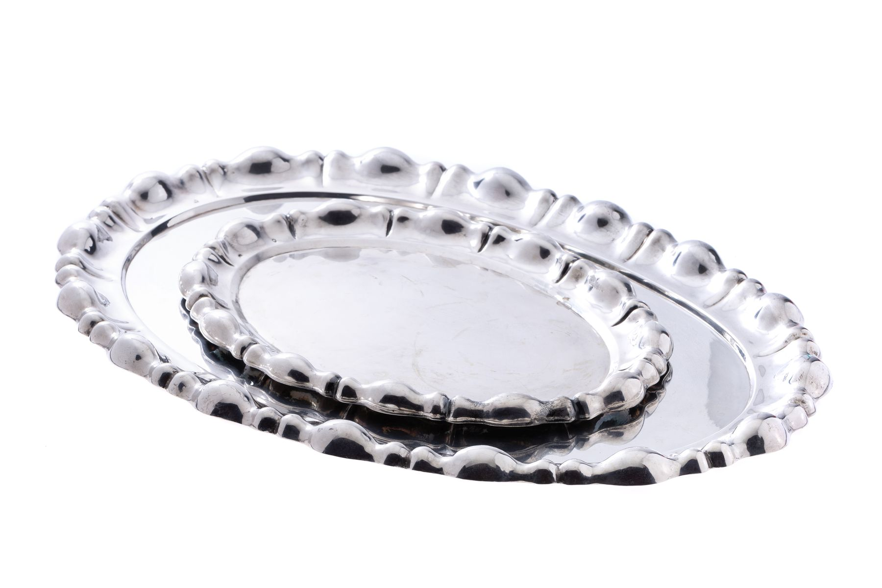 #17 2 silver plates | 2 Silberplatten Image