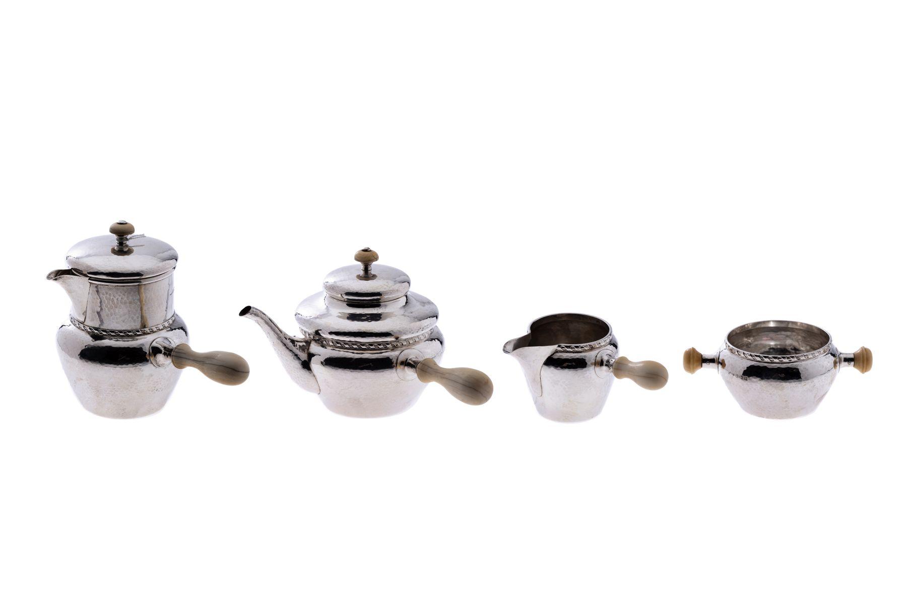 #31 Albert E. Jones 4-piece coffee and tea set 1924/28 | Albert E. Jones 4 teiliges Kaffee-und Teeservice 1924/28 Image