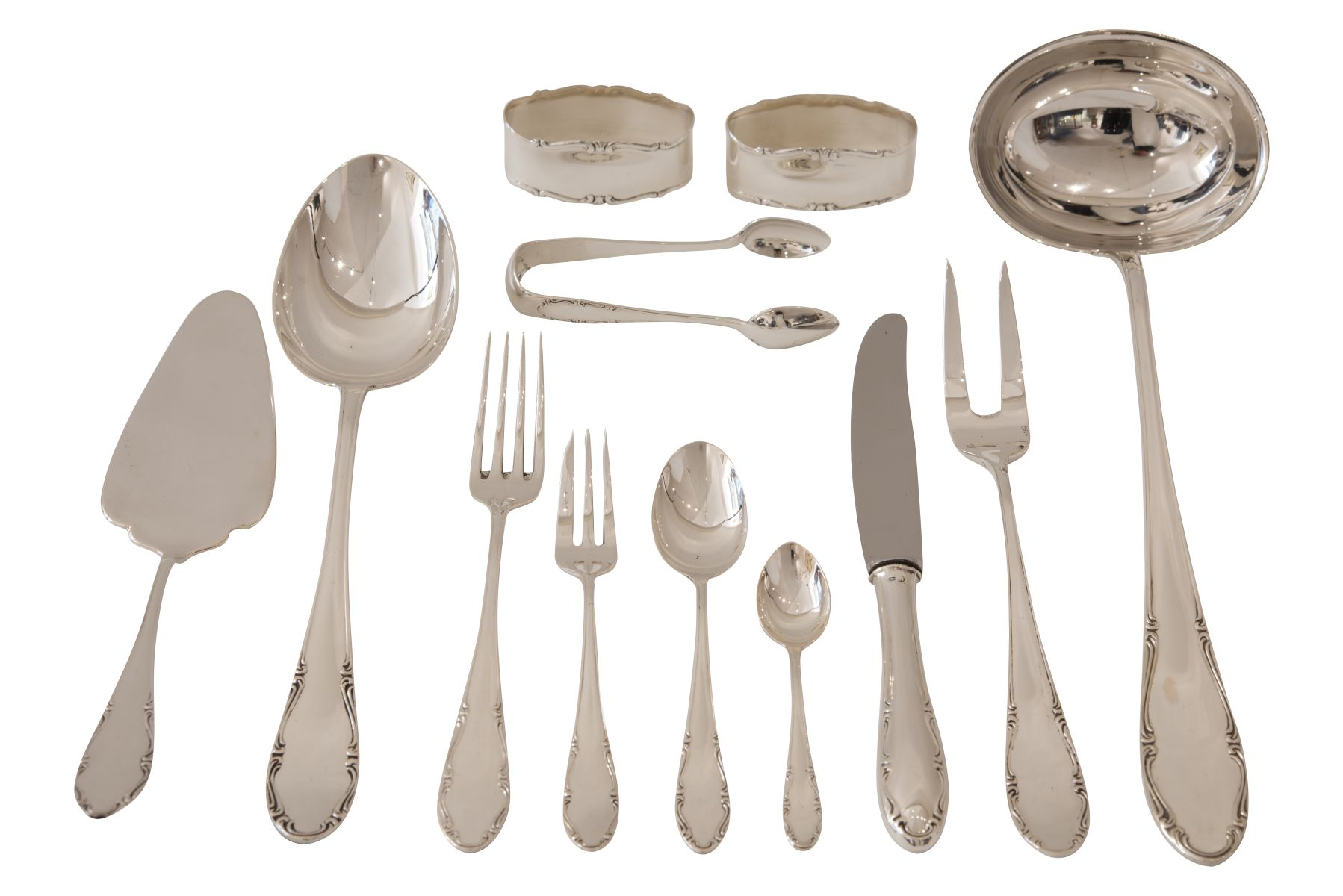 #73 Cutlery Set | Besteck Konvolut A. Sturm Wien Image