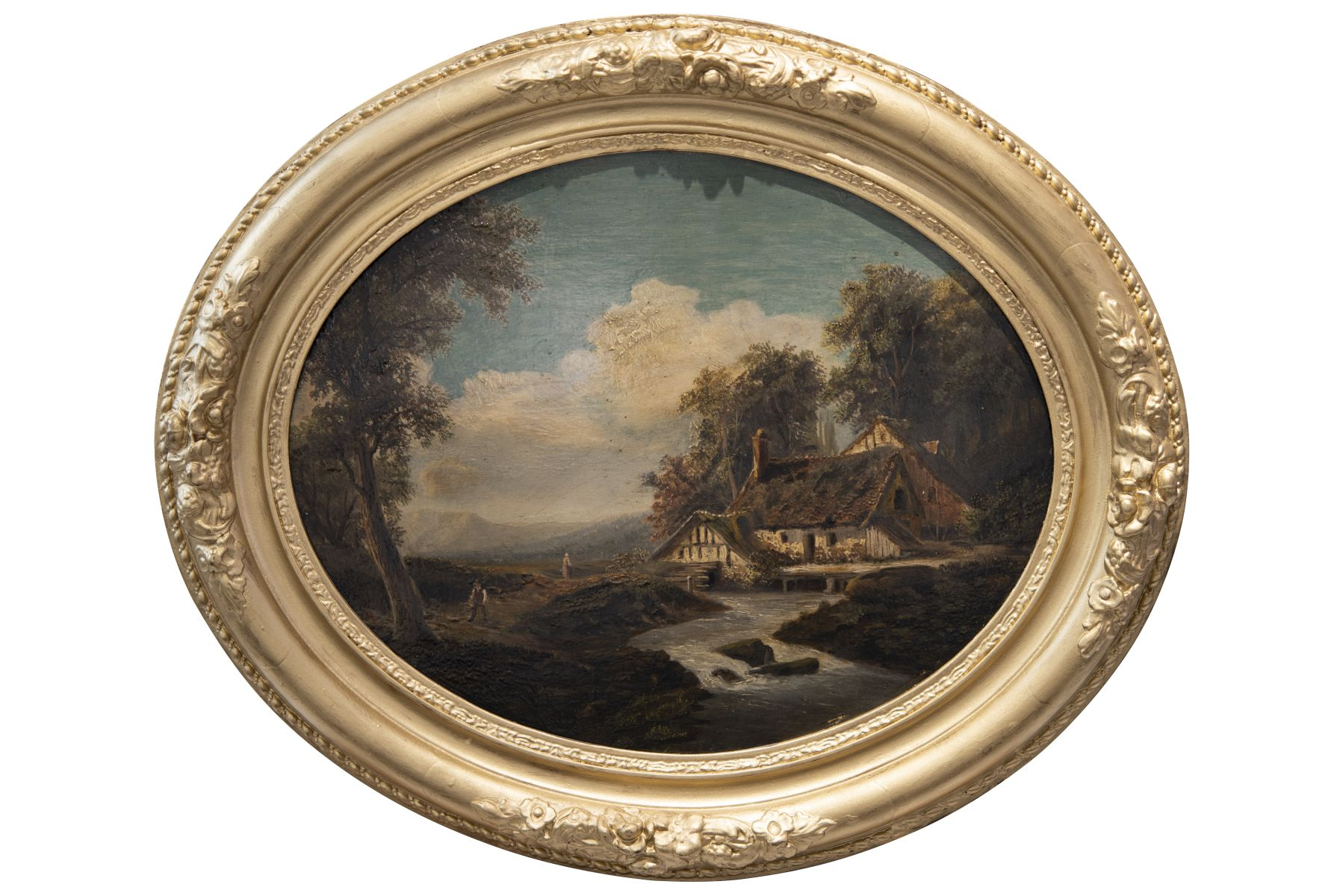 #104 Oval landscape | Ovales Landschaftsbild Image