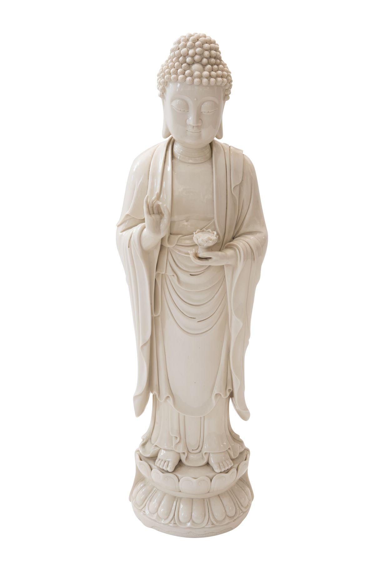 "#11 Blanc de Chine ""Guanyin"", porcelain figure | Blanc de Chine ""Guanyin"", Porzellanfigur Image"