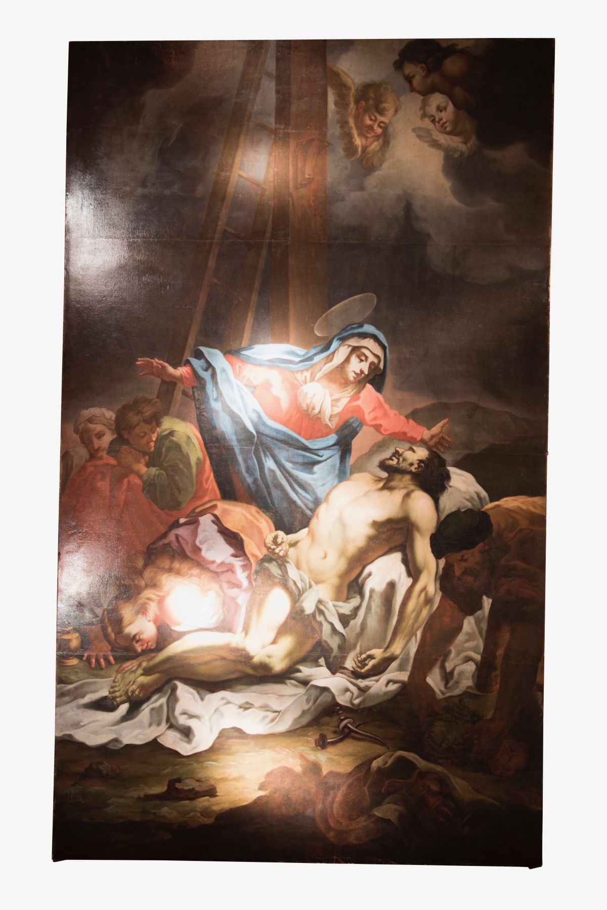 "#118 Austrian baroque painter ""Descent from the Cross"" | Österreichischer Barockmaler ""Kreuzabnahme Christi"" Image"