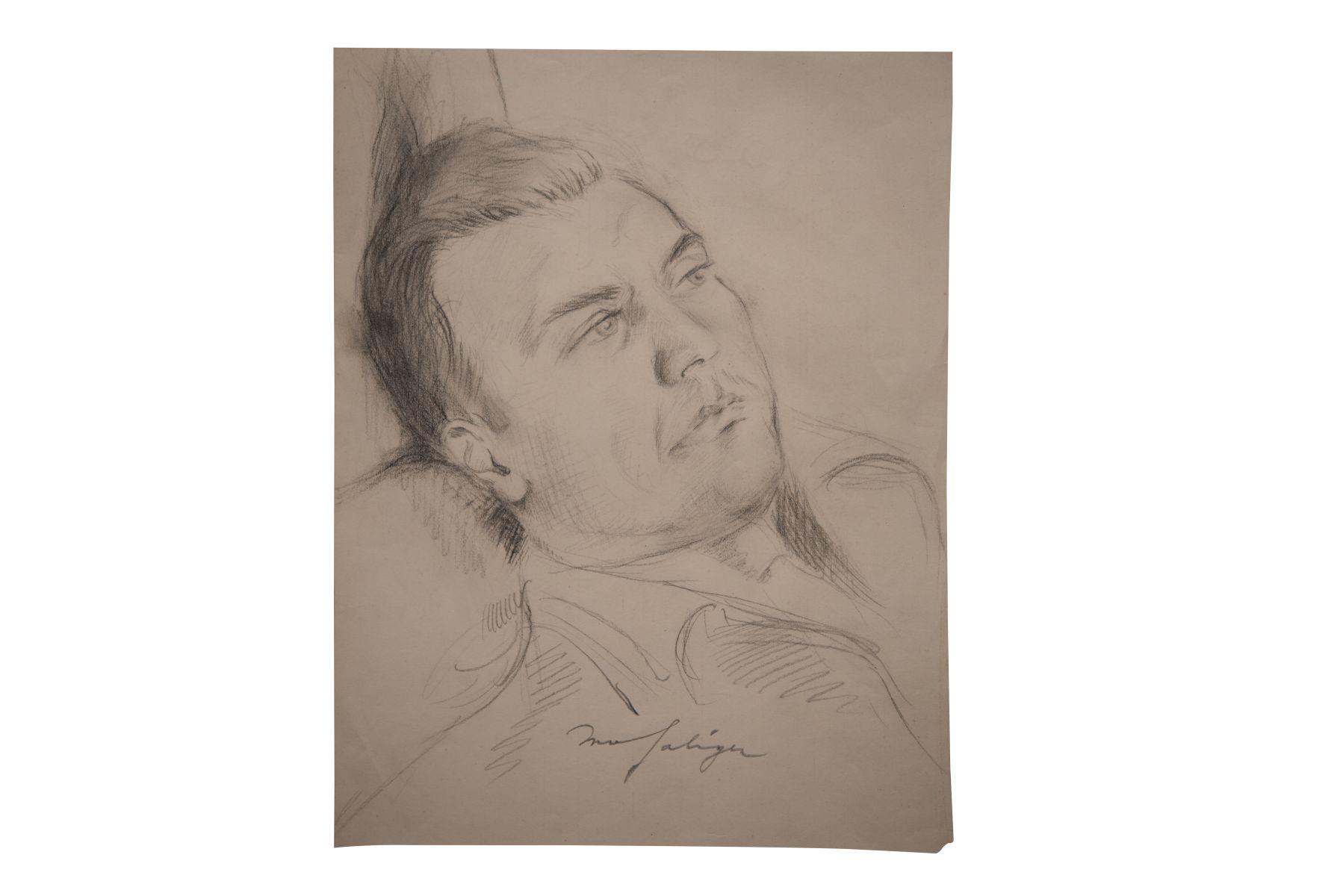 "#129 Ivo Saliger ""Self-Portrait"" | Ivo Saliger "" Selbstporträt"" Image"