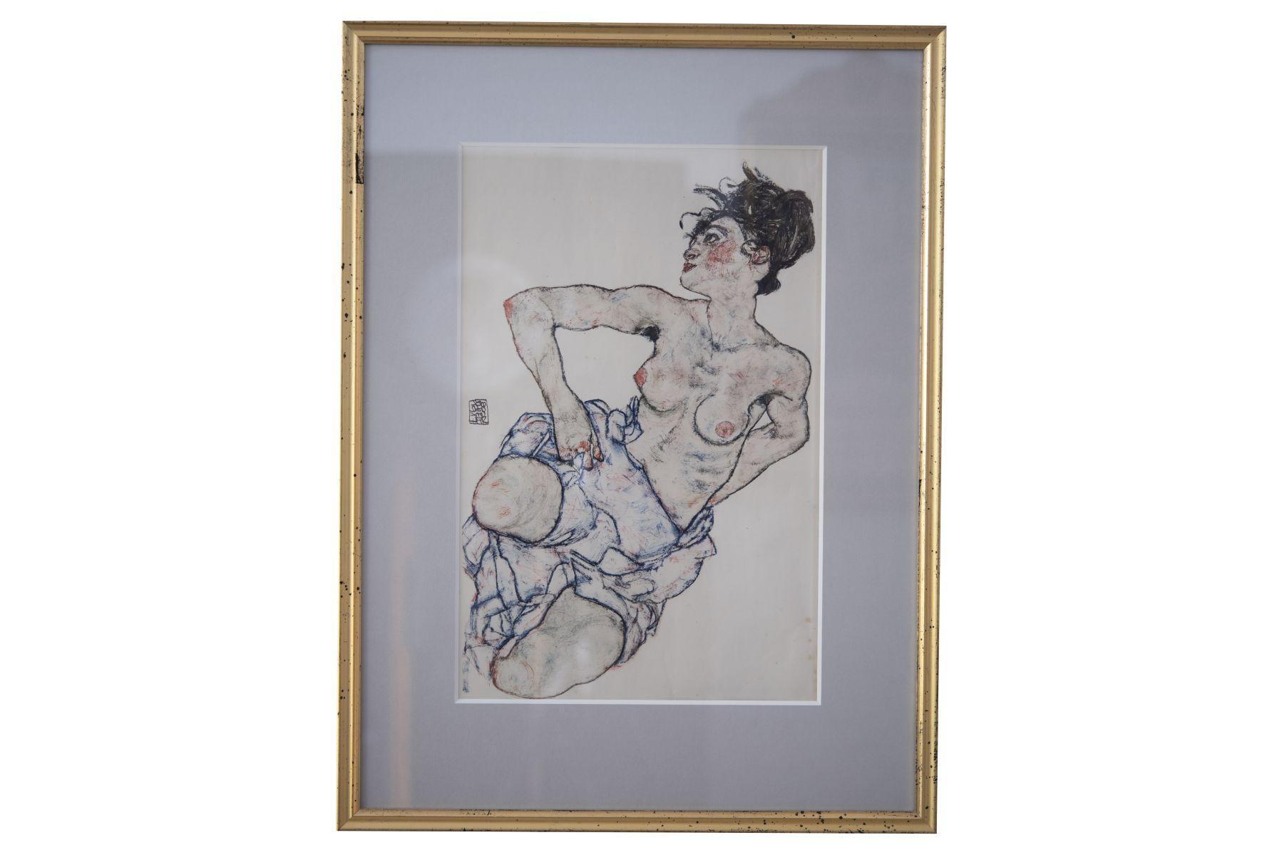 "#161 Egon Schiele ""Woman"