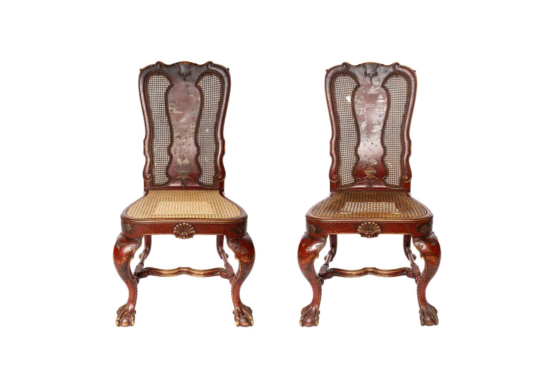#168 2 wicker chairs | 2 chinesische Stühle Image