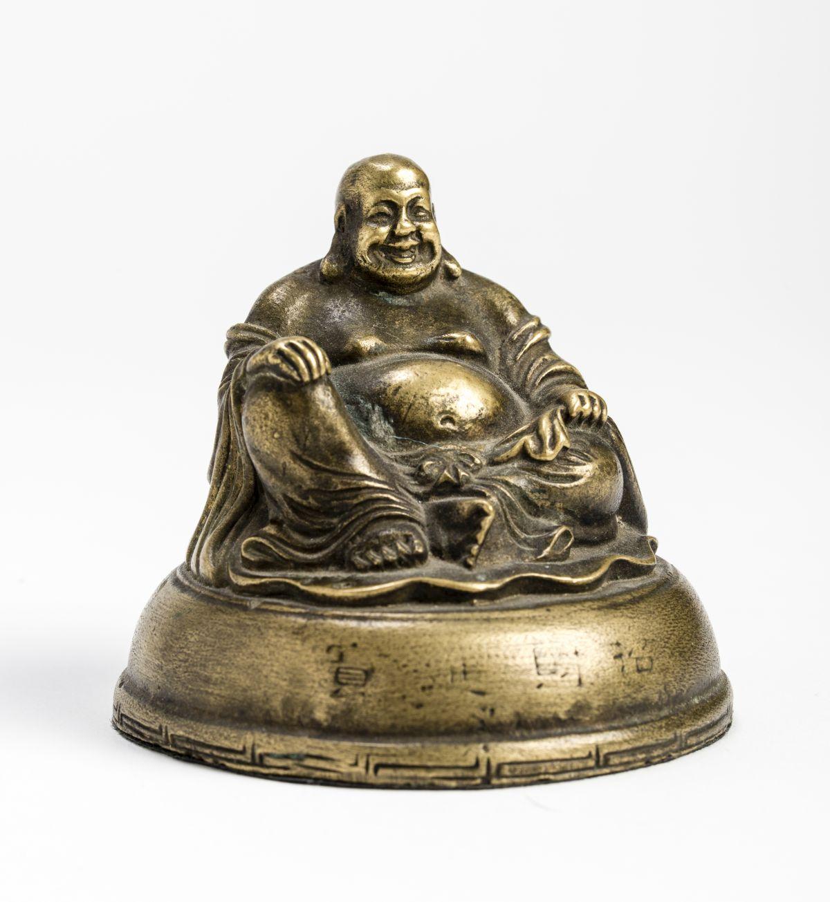 #179 A bronze Figure of BUDAI | Eine Bronzefigur von BUDAI Image