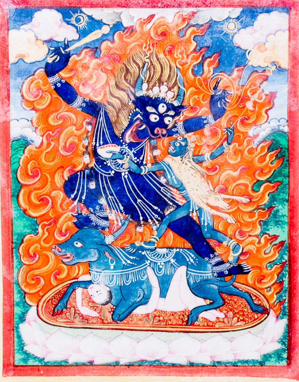 #190 The Protective Deity Sri Devi | Die Schutzgottheit Sri Devi Image