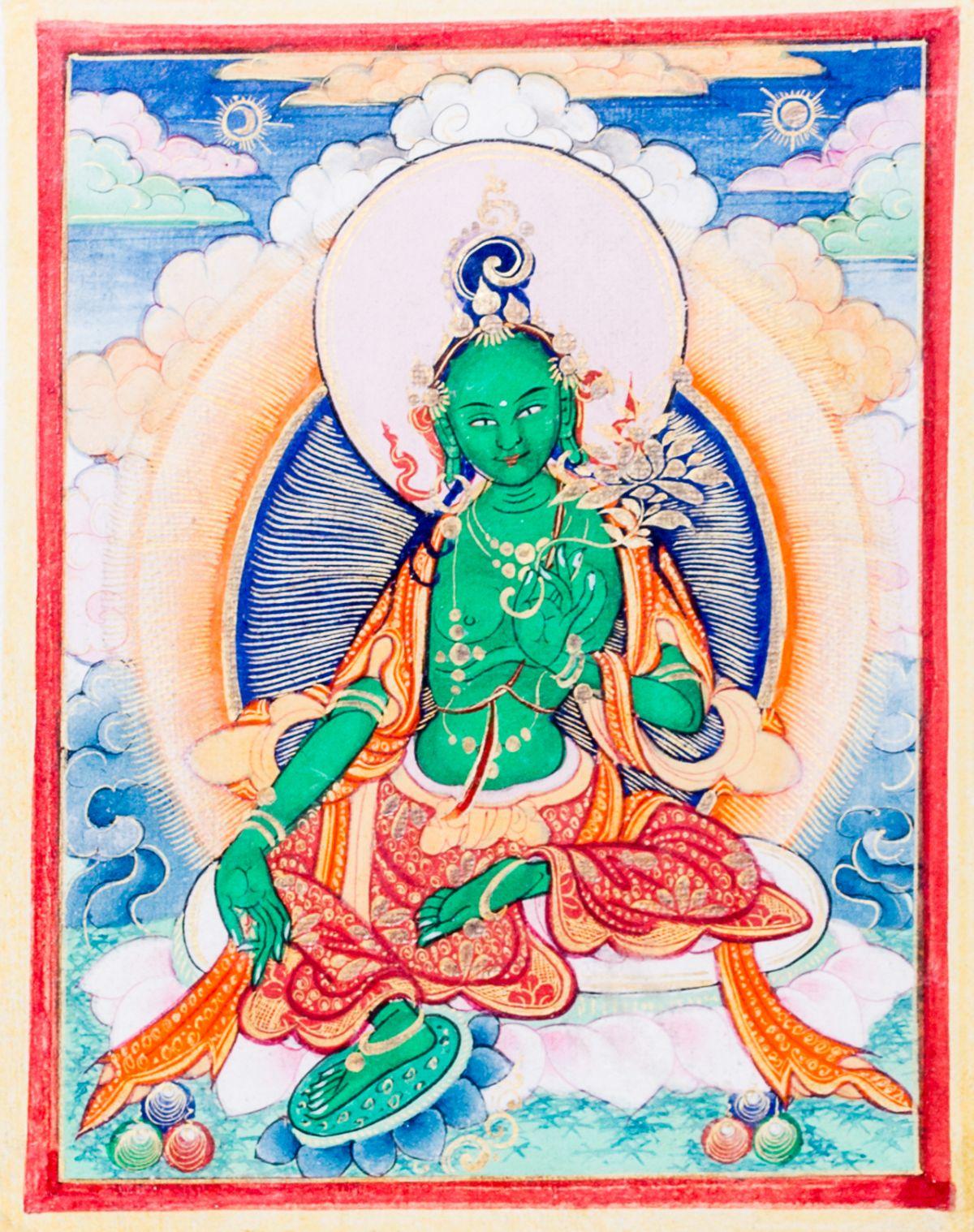 #191 Green Tara | Grüne Tara Image