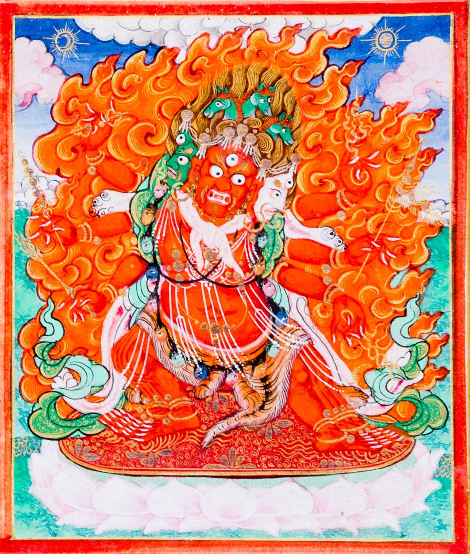 #192 The protecive Deity Hayagriva | Die Schutzgottheit Hayagriva Image
