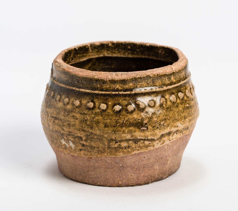 #200 A small Chinese glazed ceramic pot vessel | Ein kleines chinesisches glasiertes Keramiktopfgefäß Image