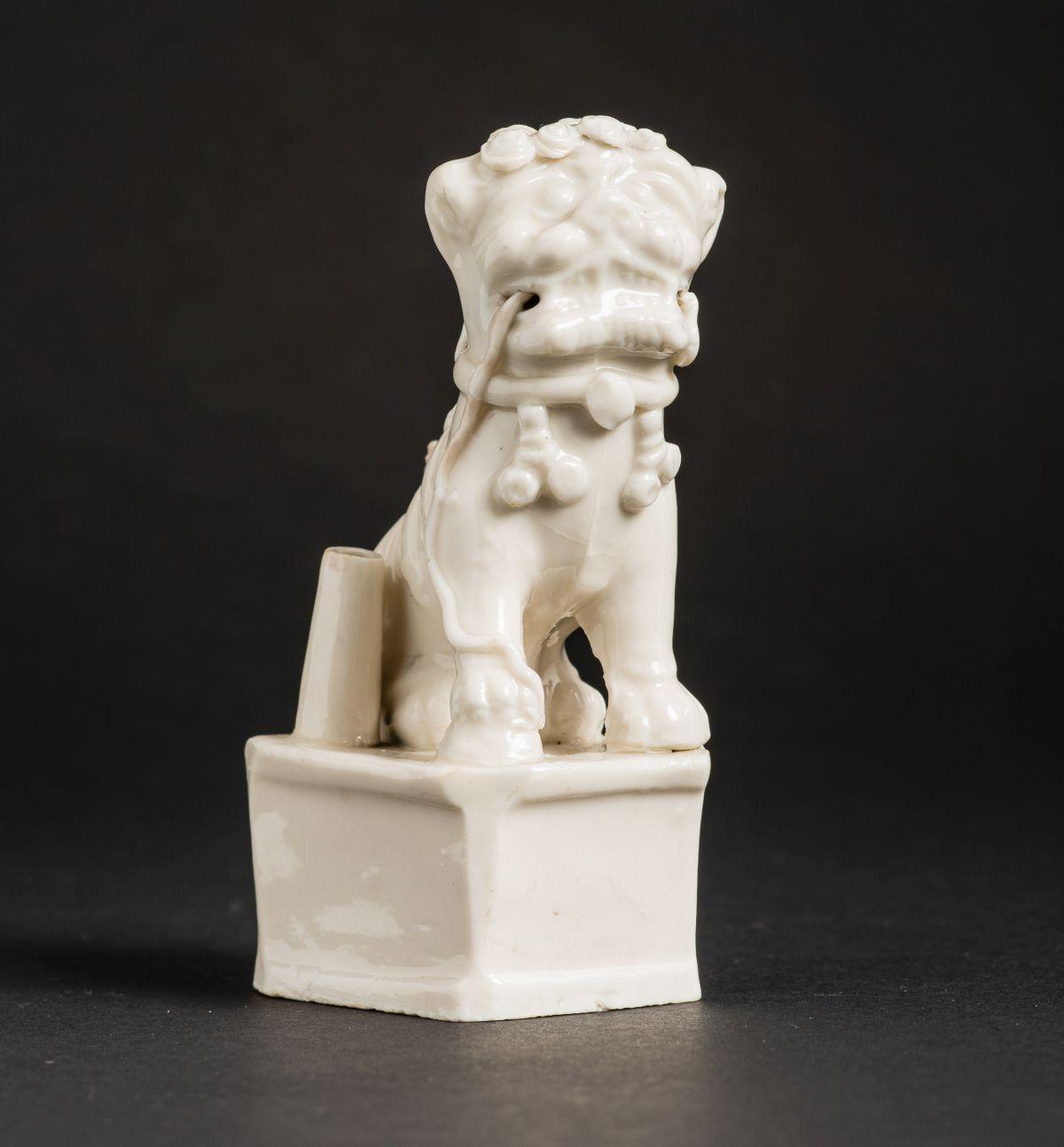 #201 Guardian lion (fo-lion) on Pedestal | Wächterlöwe (Fo-Löwe) auf Sockel Image