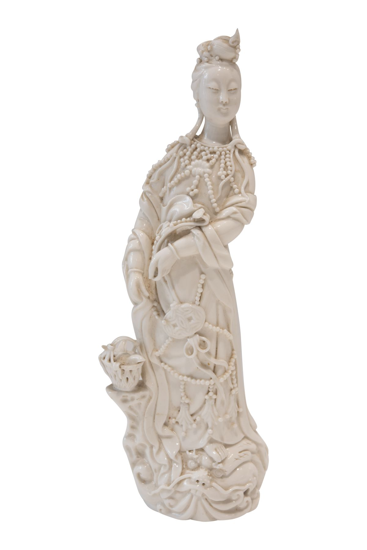 "#65 Blanc de Chine ""Guanyin"", porcelain figure | Blanc de Chine ""Guanyin"", Porzellanfigur Image"