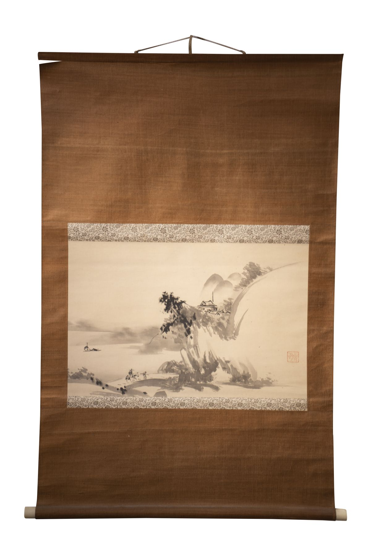 #85 Chinese hanging scroll | Chinesische Hängerolle Image