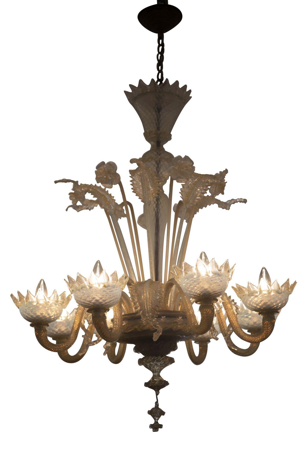 #94 Murano chandelier | Murano Luster Image