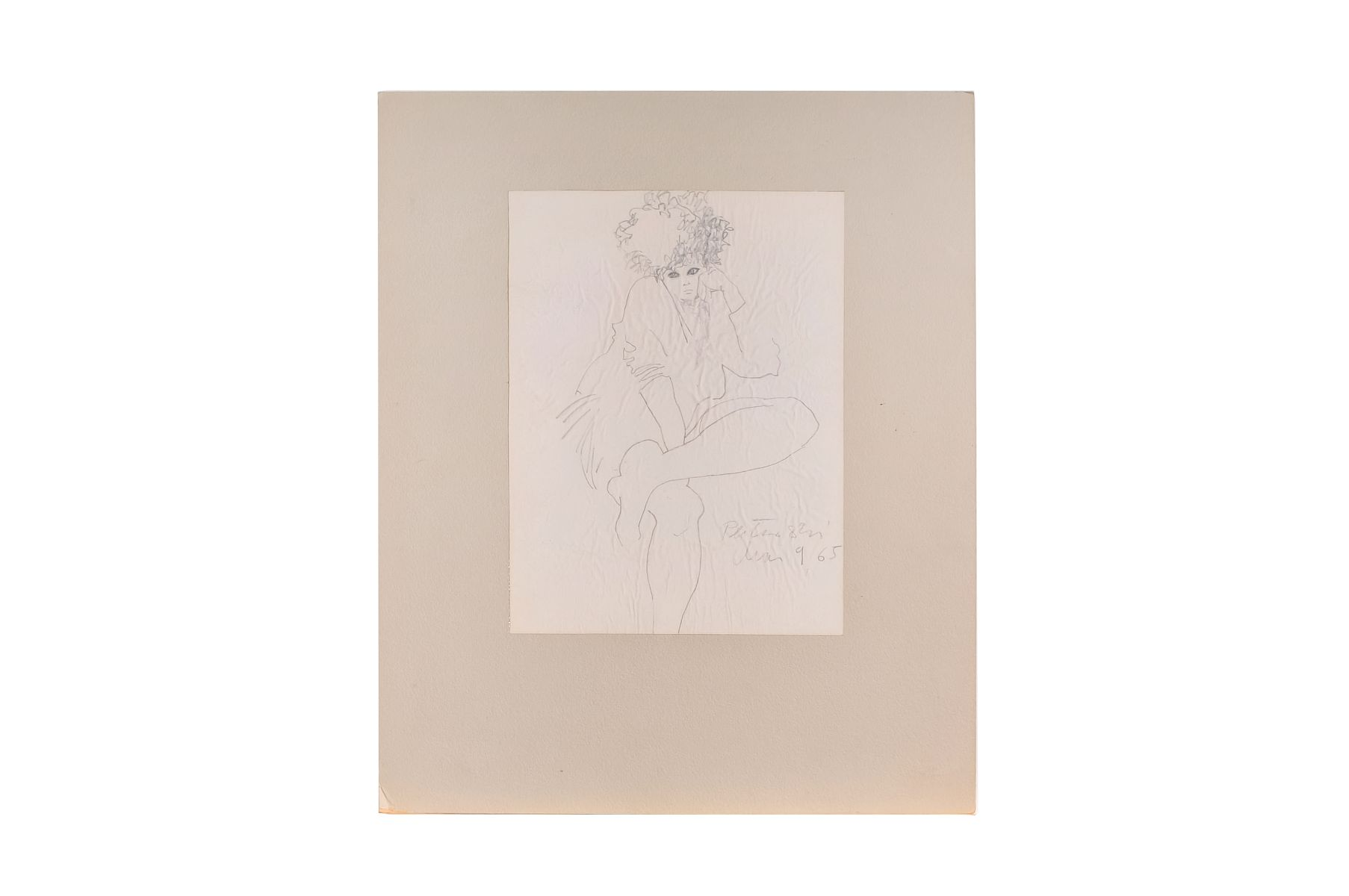 "#106 Roland Pleterski ""Untitled"" | Roland Pleterski (1920 – 2000) ""Ohne Titel"" Image"