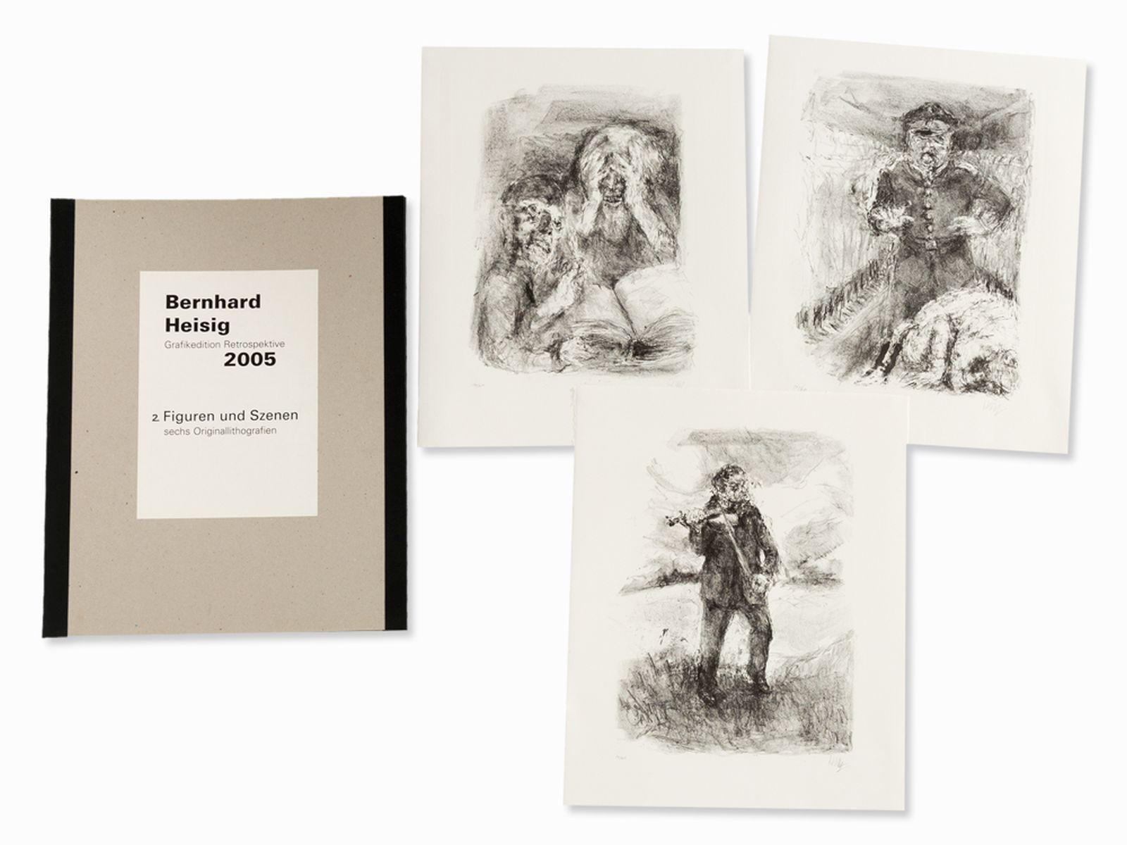 #111 Bernhard Heisig, Grafikedition Retrospektive, Portfolio, 2005 | Bernhard Heisig, Grafikedition Retrospektive 2005, Mappe, 2005 Image