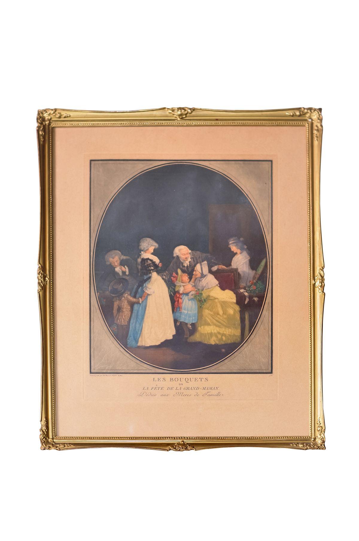 #12 Painted and engraved for Bacourt Painter of the King 1788 | Paint e gravé pour de Bacourt Peintre du Roi 1788 Image
