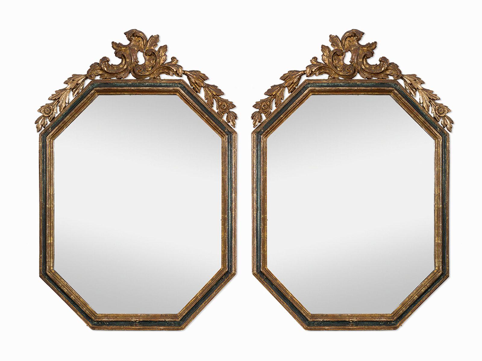 #168 Paar Wandspiegel, Spanien, 18. Jh. | Paar Wandspiegel, Spanien, 18. Jh. Image